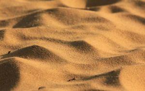 沙漠中的沙子