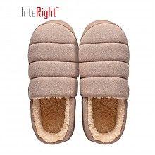 京东PLUS会员 : INTERIGHT IN9025 经典家居 包脚棉鞋 *7件
