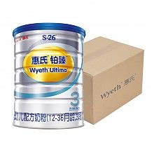 Wyeth 惠氏 S-26 铂臻 3段幼儿配方奶粉 800克*6罐